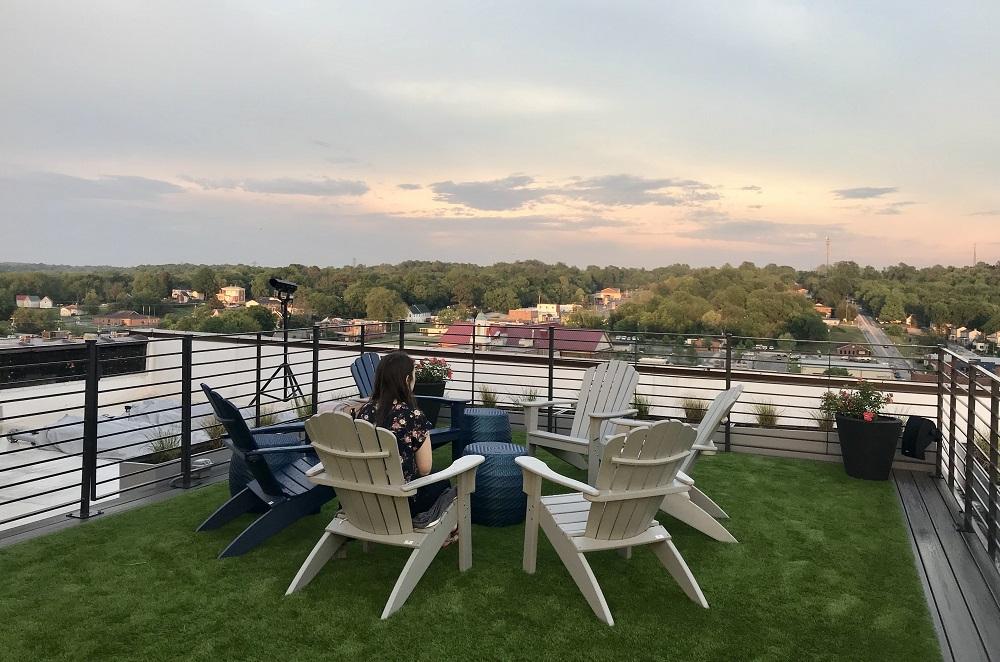 catbird rooftop bar weyanoke hotel farmville