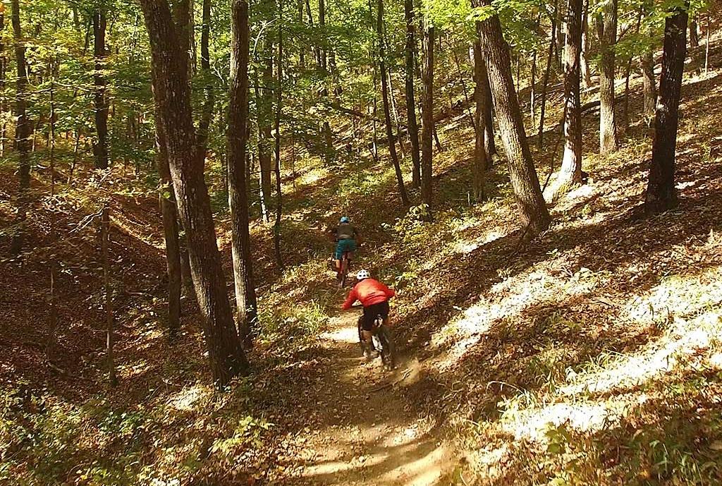 douthat state park mountain biking