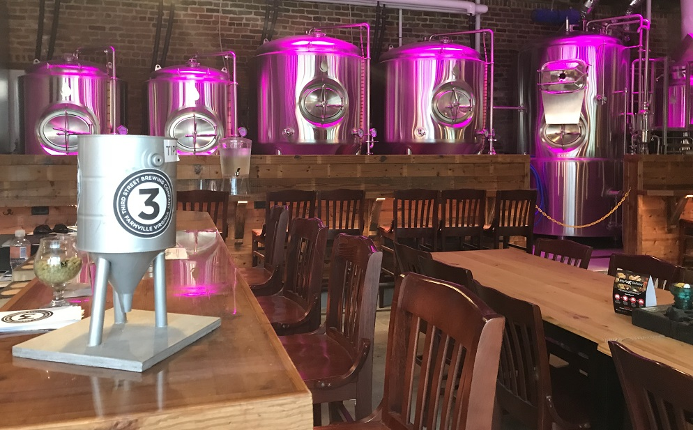 third street brewing farmville craft brewery