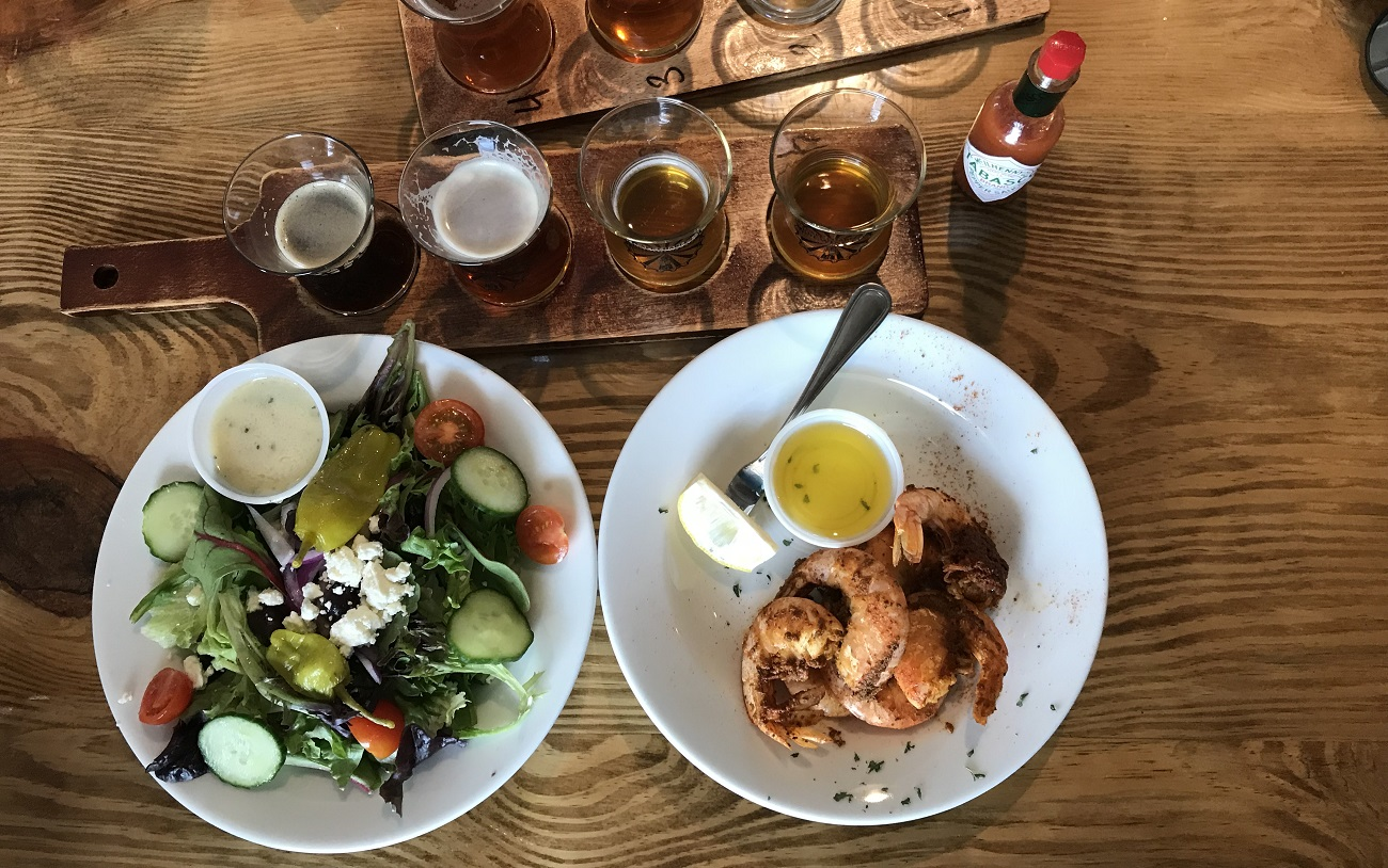 cape charles brewing company food