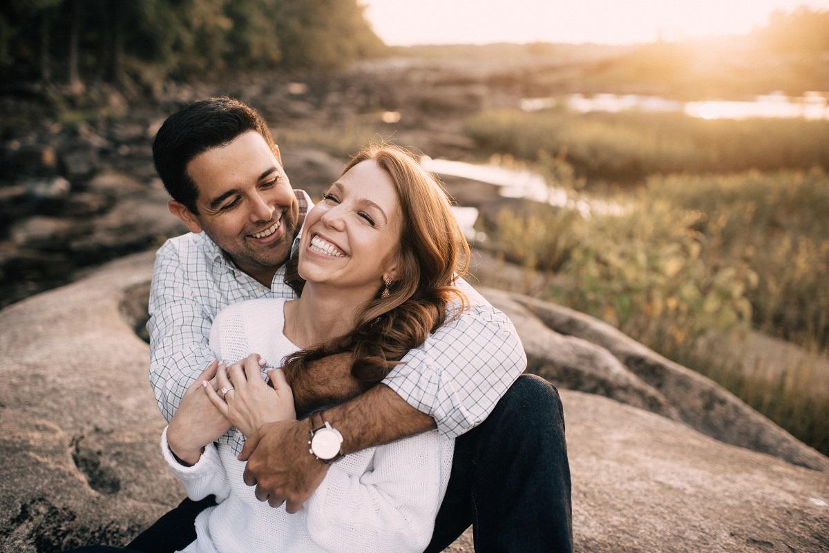 belle isle engagement wedding photos
