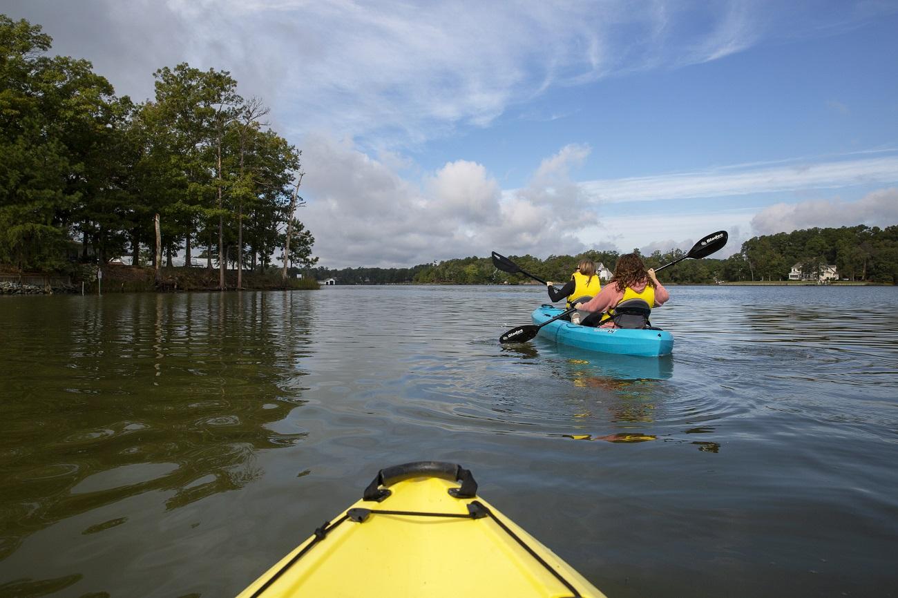 kayak bethpage camp resort chesapeake bay