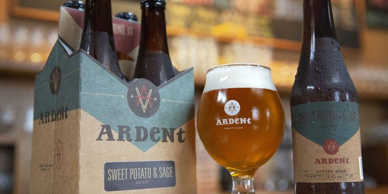 ardent sweet potato and sage beer