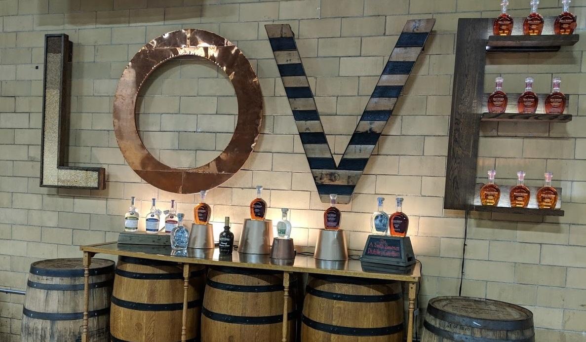 a. smith bowman distillery lovework fredericksburg