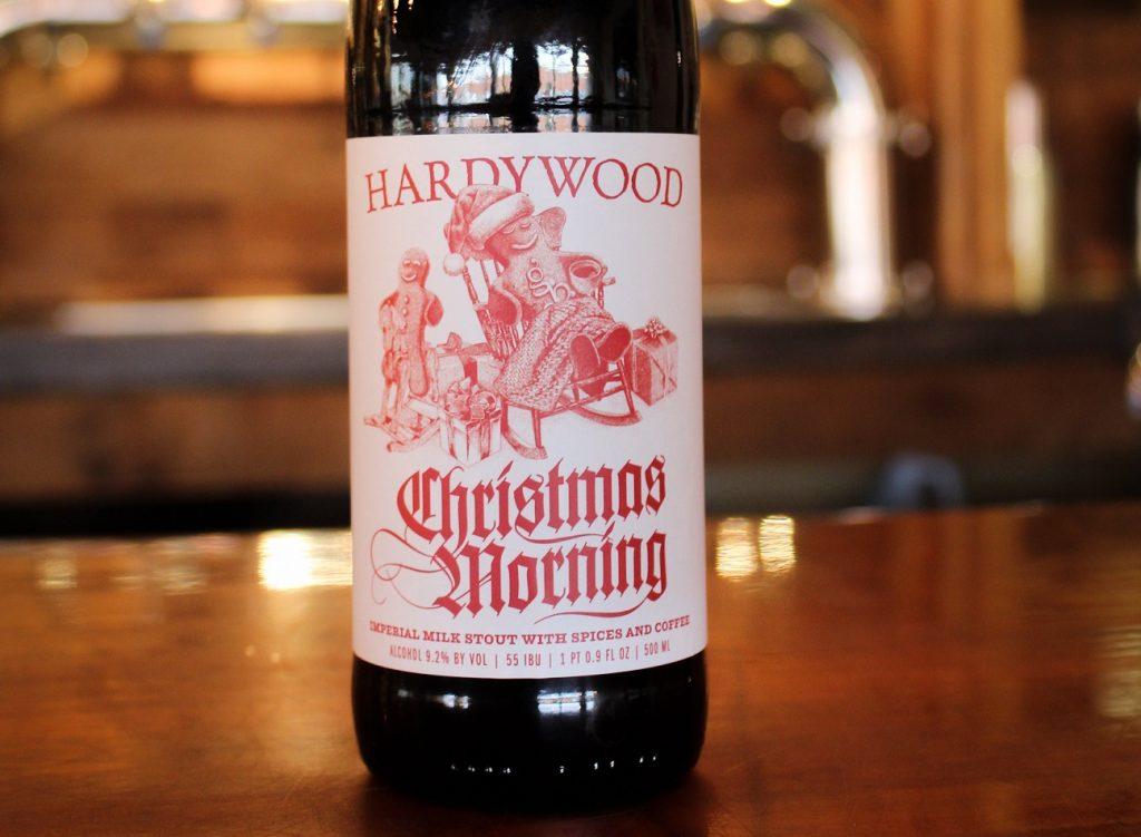 hardywood park brewing company christmas morning beer
