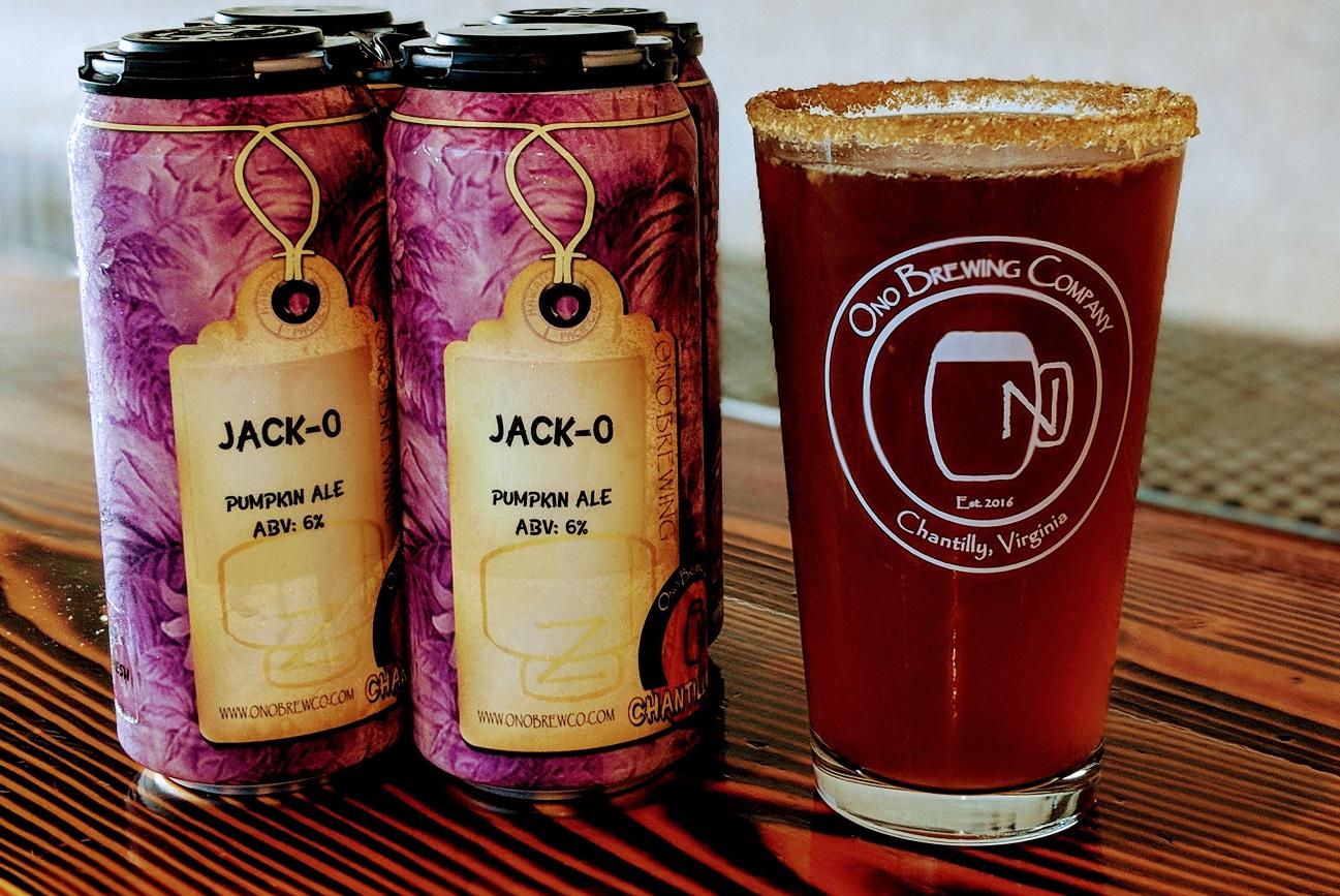 ono brewing company jack-o pumpkin ale