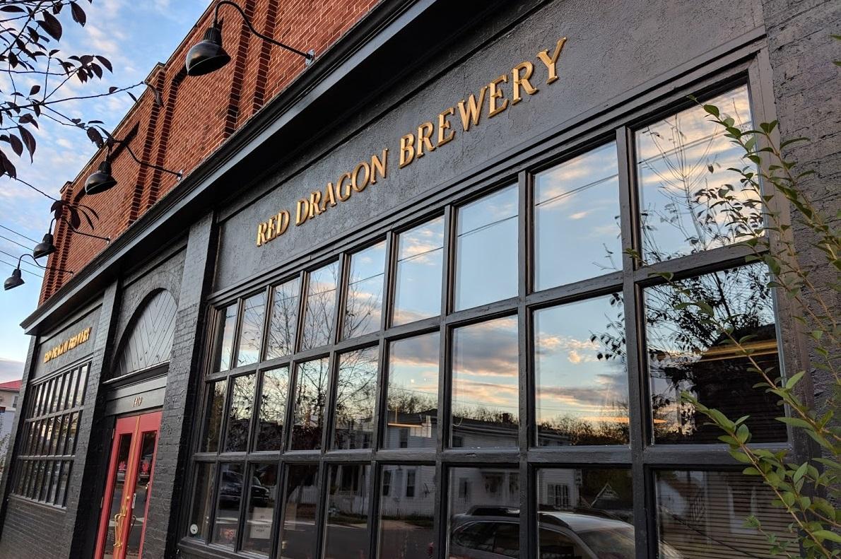 red dragon brewery fredericksburg craft beer