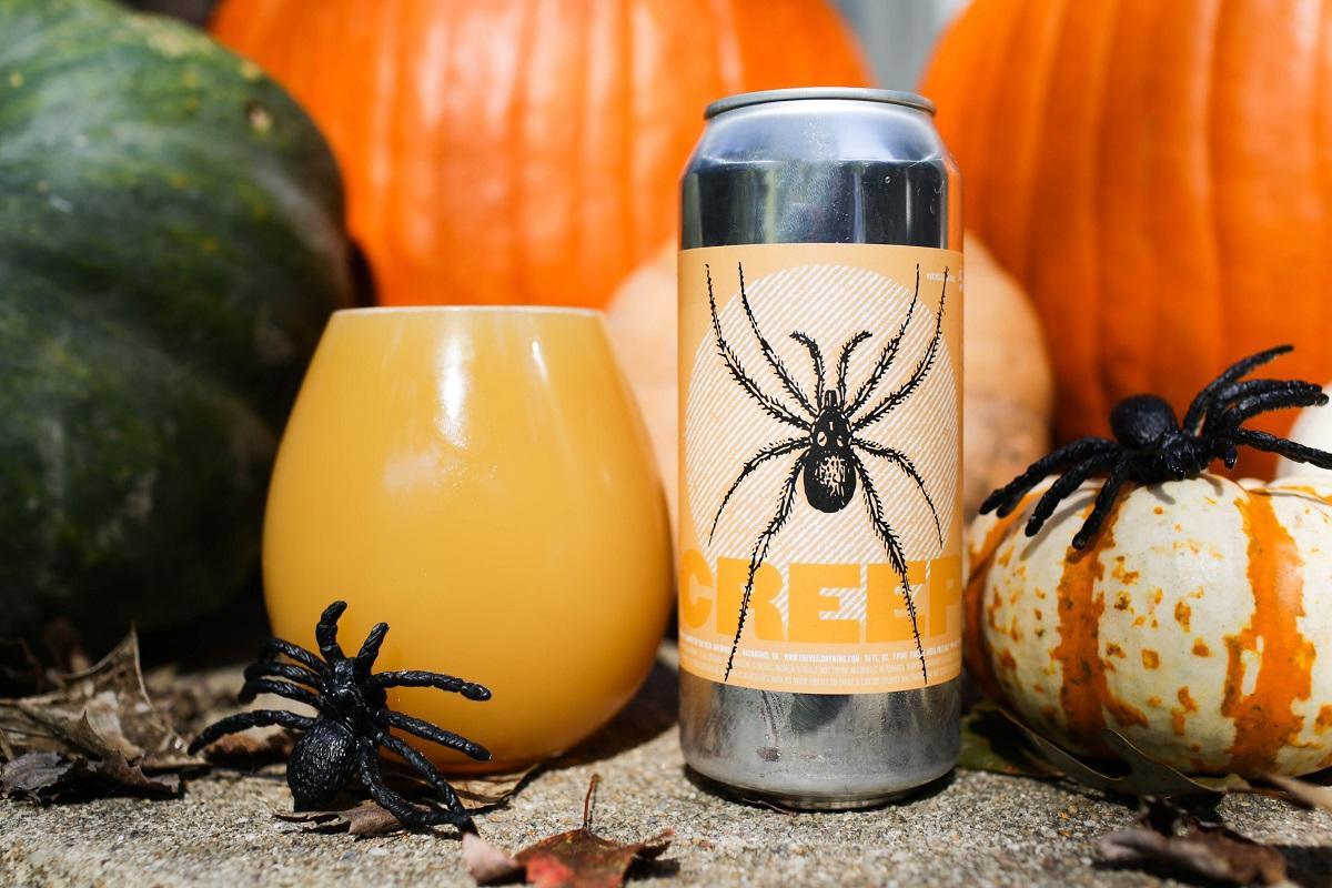 the veil brewing company creep DIPA holiday pumpkin beer
