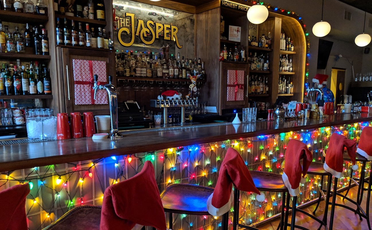 the jasper miracle on cary st. pop up holiday bar carytown richmond