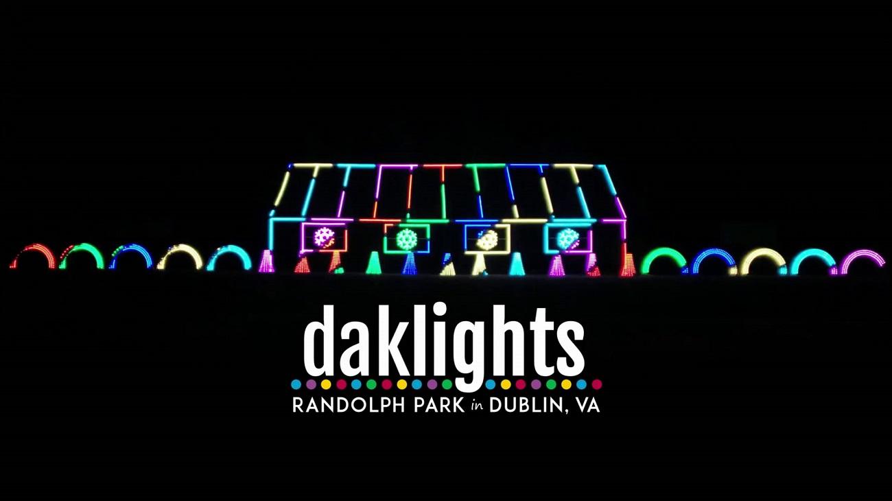 dak lights holiday light display randolph park dublin