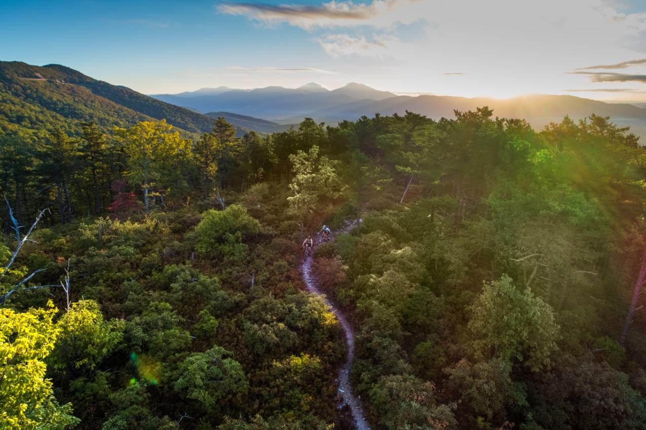 mountain biking travel guide cover 2019 dody ridge trail roanoke mountain biking