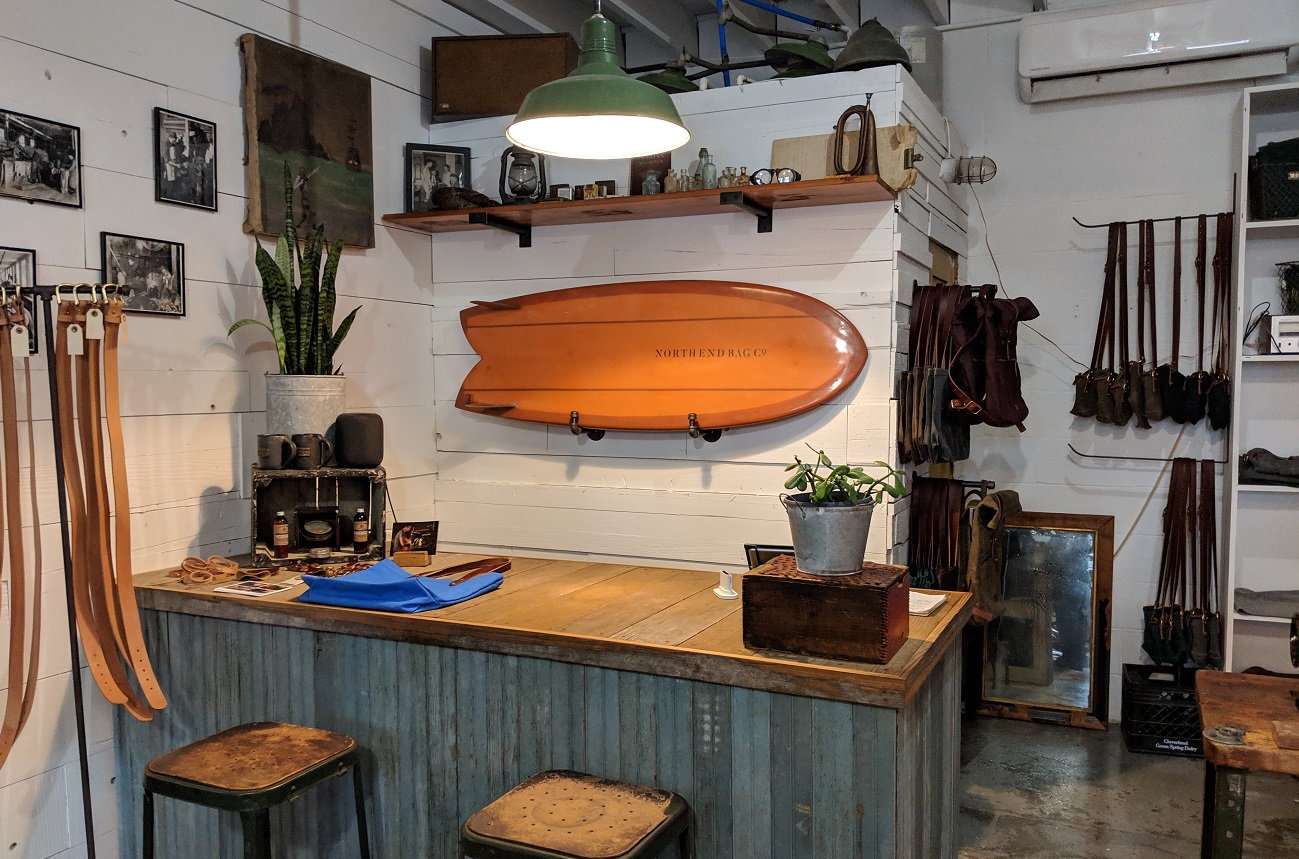 north end bag company vibe creative district virginia beach