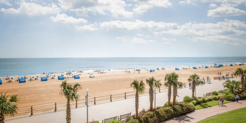 virginia beach boardwalk travel guide cover 2019
