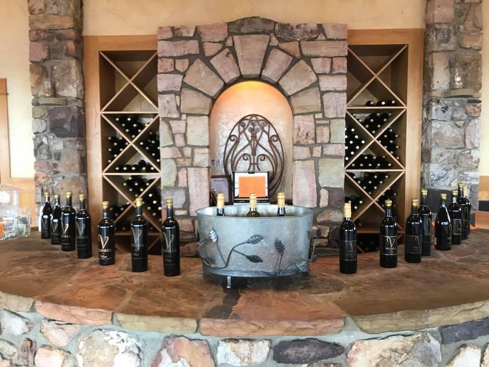 valhalla vineyards tasting room
