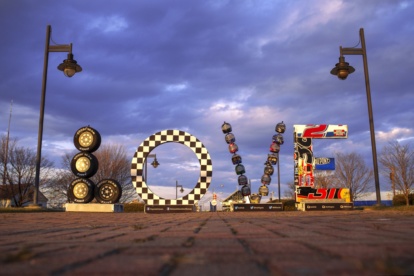 Richmond Raceway LOVEwork