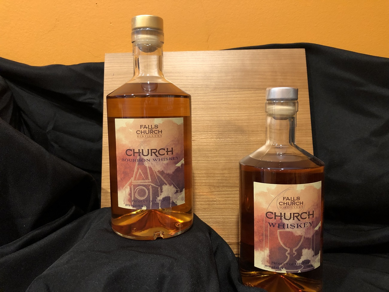 Falls Church Distillery Bourbon whiskey products