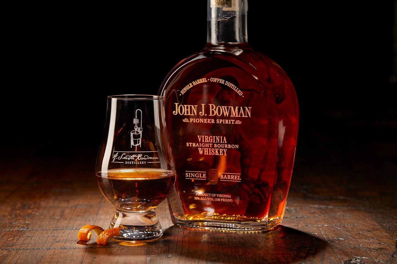 a smith bowman distillery john j bowman bourbon whiskey fredericksburg distillery