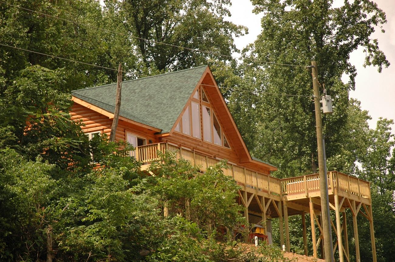 a bucks peak cabin luray