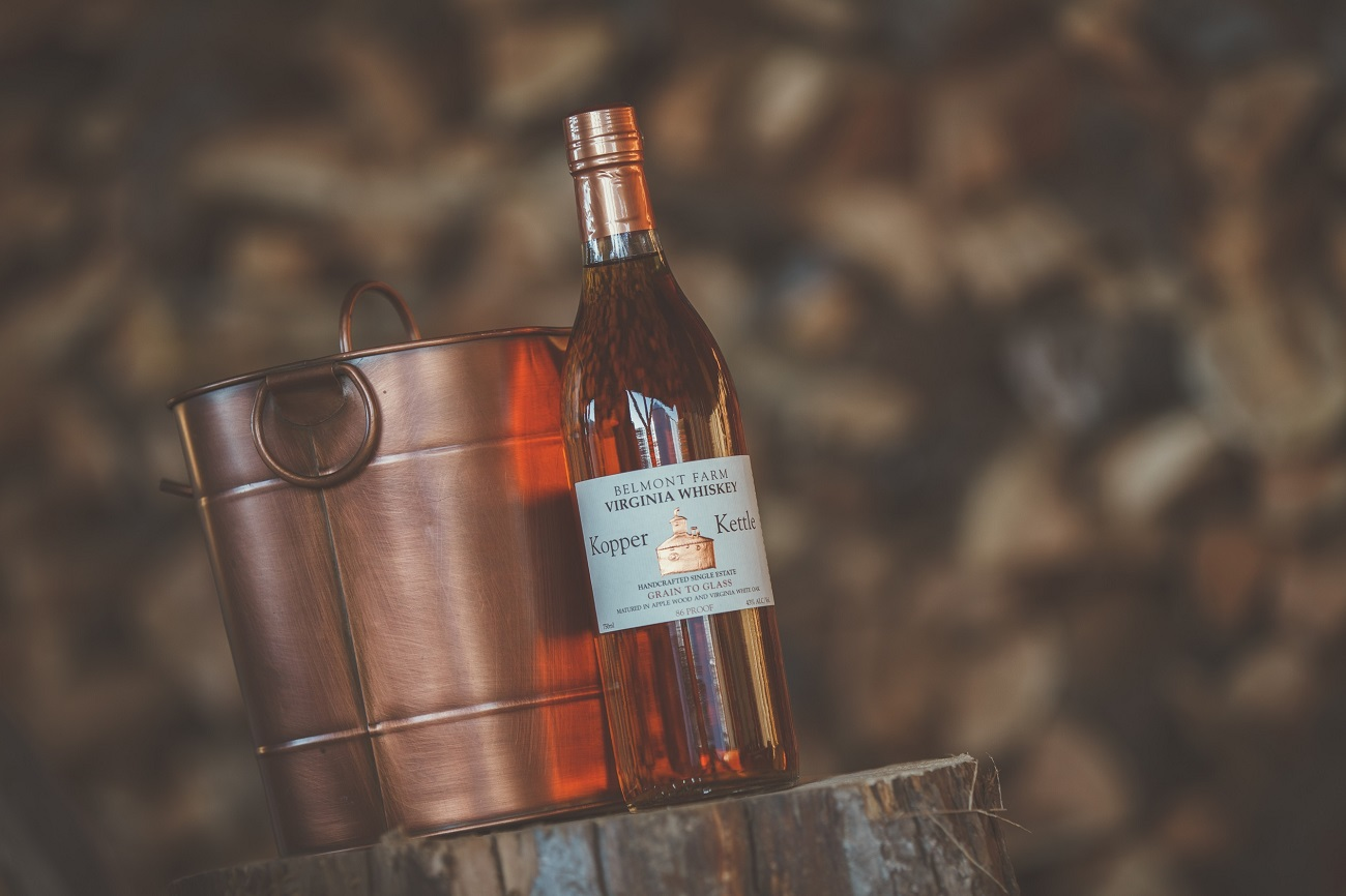 belmont farm distillery whiskey and bourbon products kopper kettle