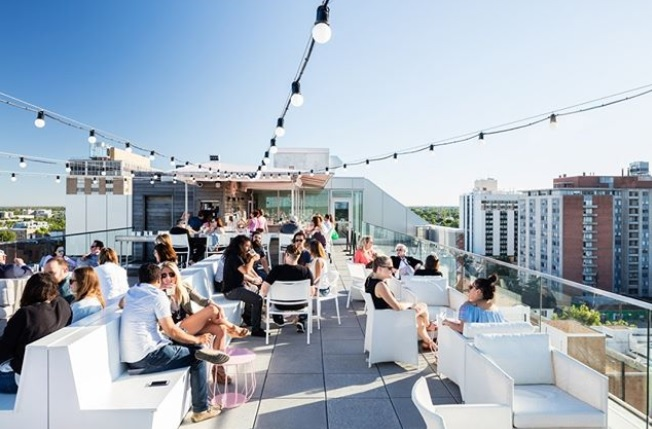 Instagram post of the Quirk Rooftop in Richmond