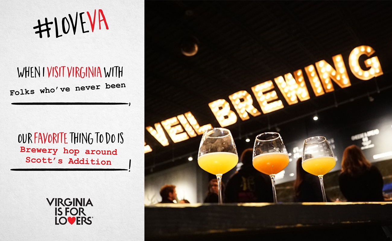 The Veil Brewing Company in Scott's Addition