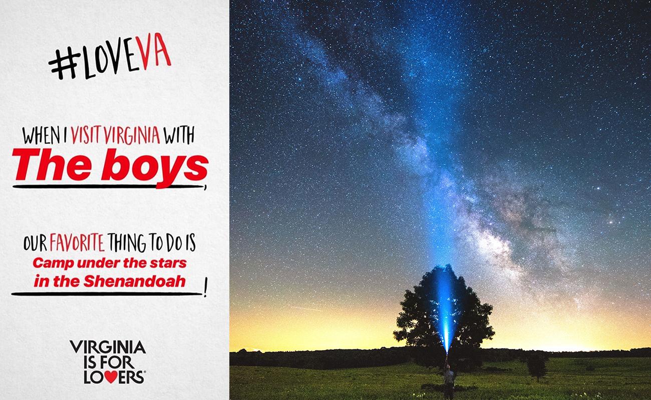 Stargazing in Shenandoah National Park