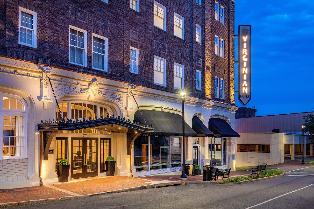 The Virginian Hotel Downtown Lynchburg