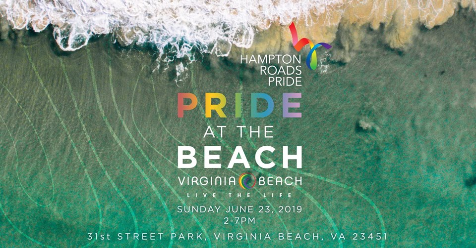 Virginia Beach Pride at the Beach
