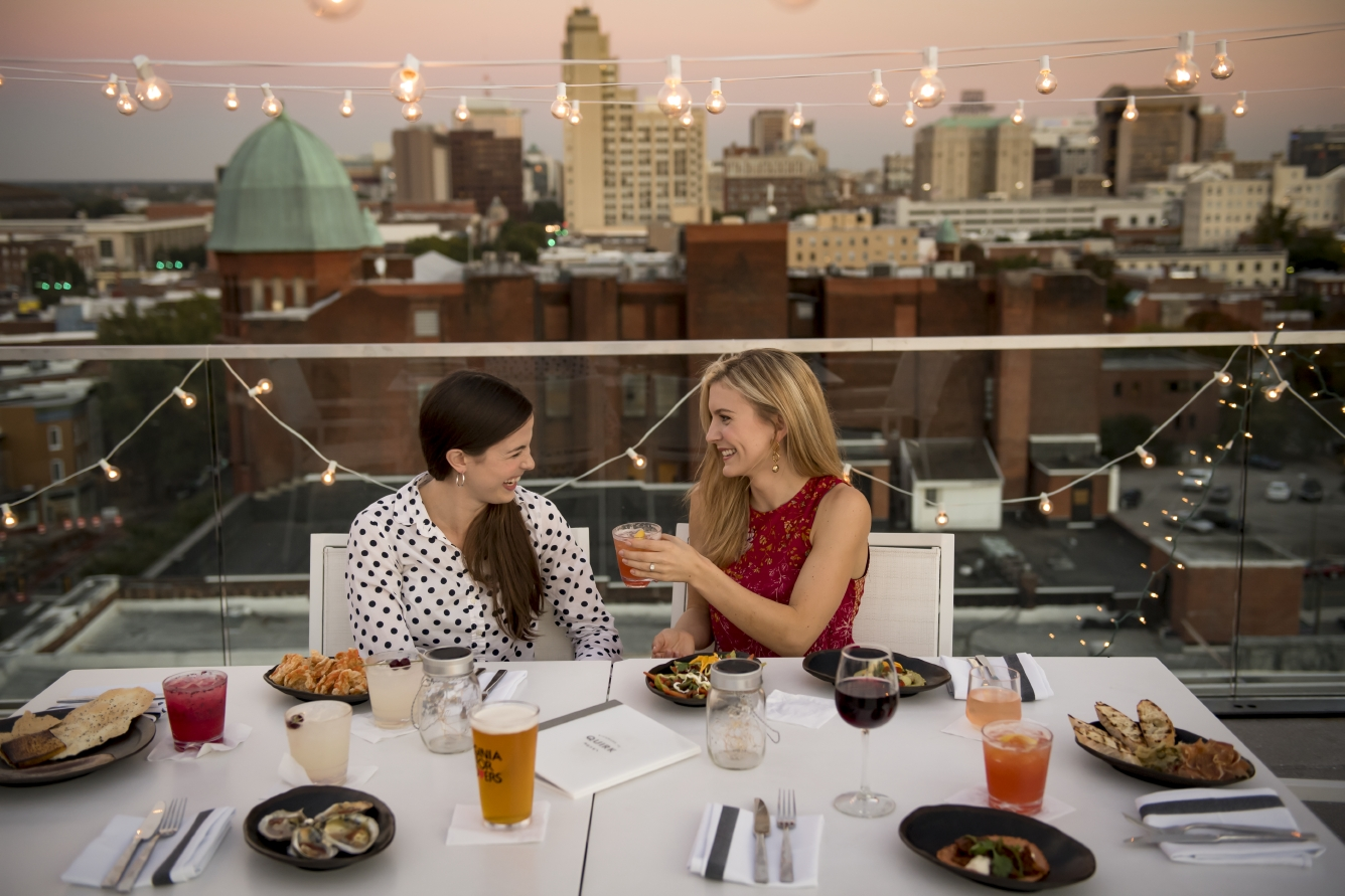 The Rooftop Bar at Quirk Hotel