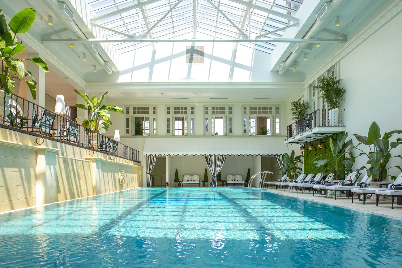 The Cavalier Hotel Indoor Pool Virginia Beach