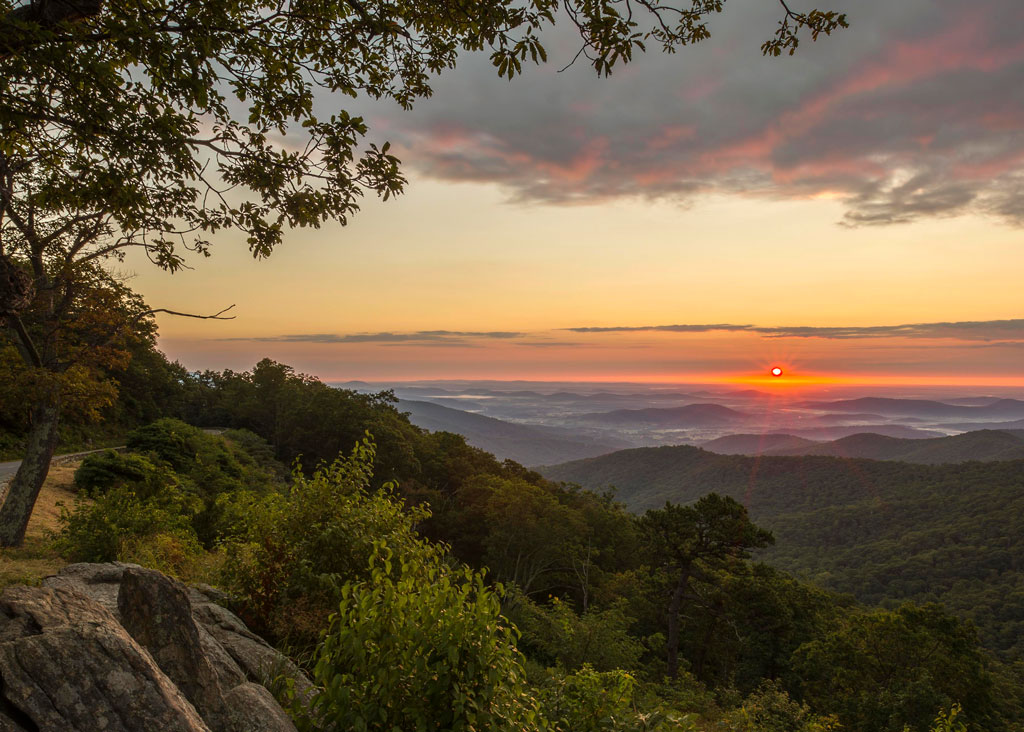 Hazel Mountain Overlook, Shenandoah National Park