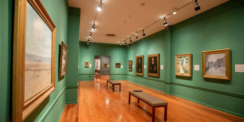The Maier Museum of Art at Randolph College features works by American artists from the 19th through 21st centuries.