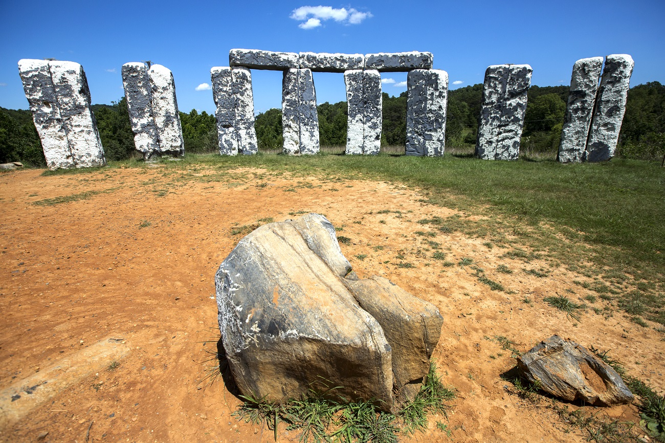Foamhenge at Cox Farms