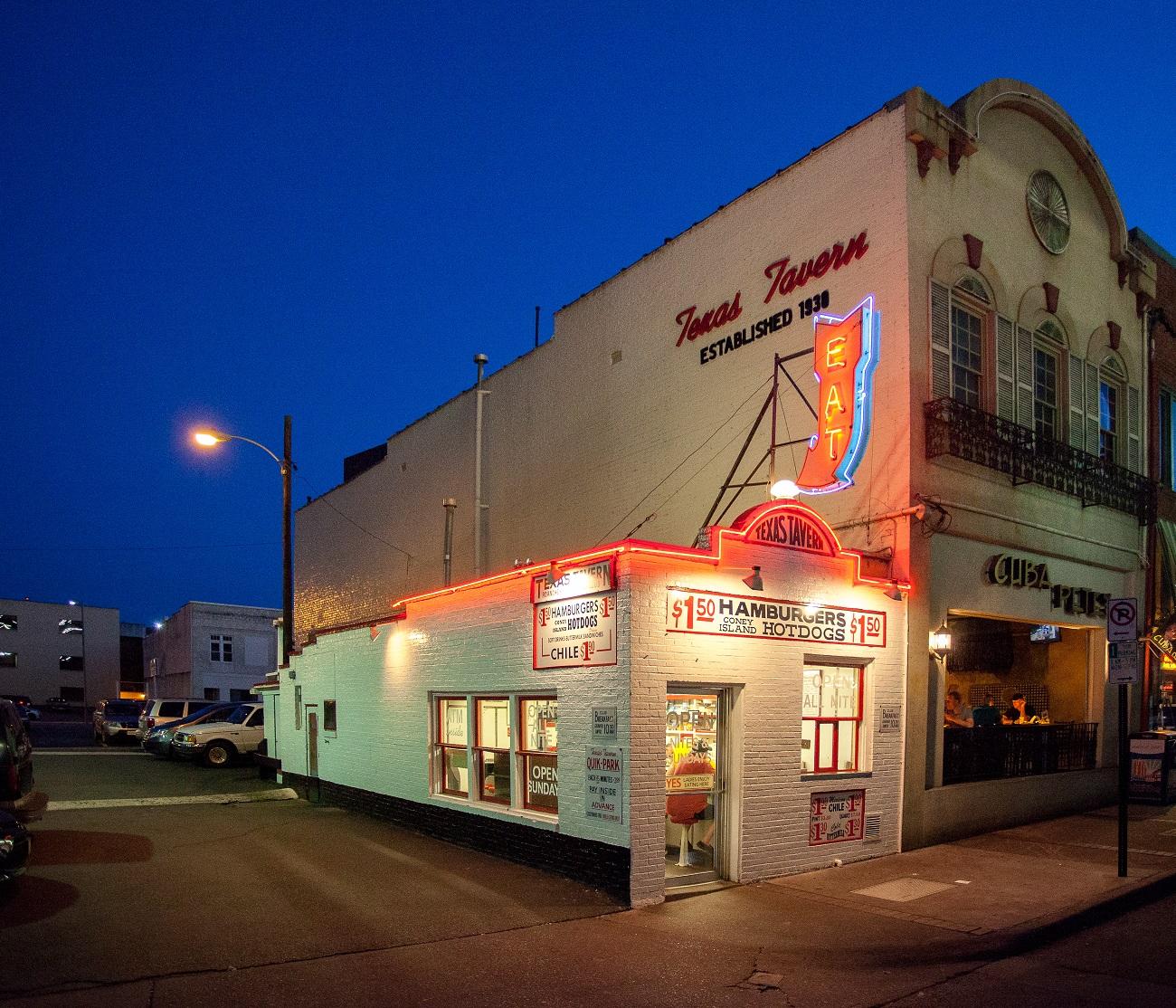 Texas Tavern Roanoke
