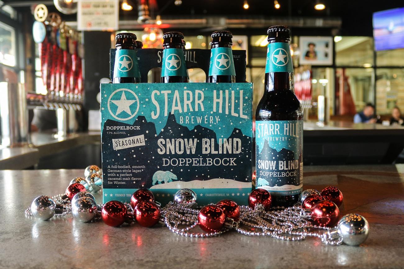 Starr Hill Snow Blind Doppelbock beer