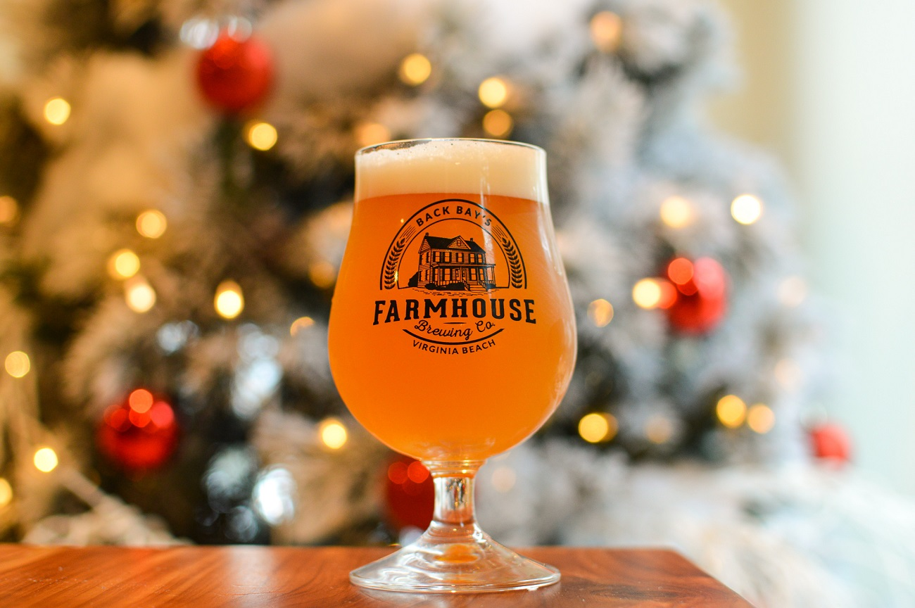 Back Bay Brewing Company Farmhouse Basic Witch Beer.