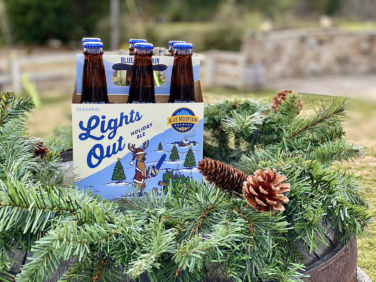Blue Mountain Brewery Lights Out Beer