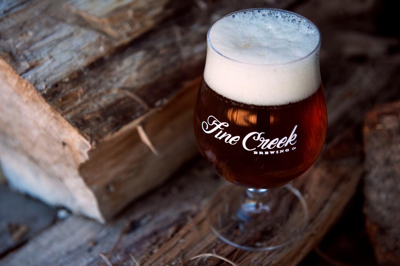Fine Creek Brewing Company Cider ale beer