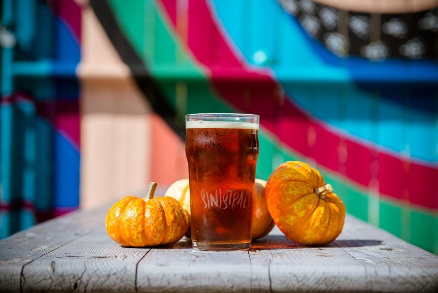Sinistral Brewing Company Yankey Farms Pumpkin Ale