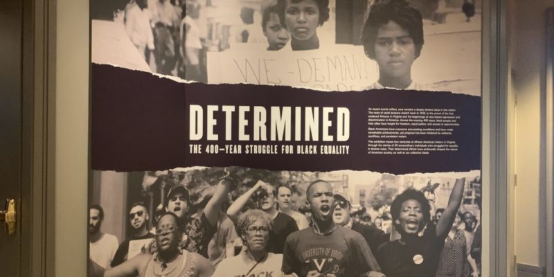 Determined Exhibit History of Museum & Culture Richmond