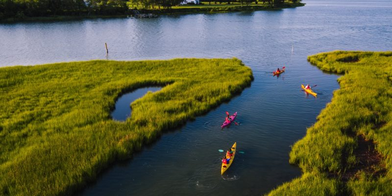 Paddle Your Glass Off Kayak Tour