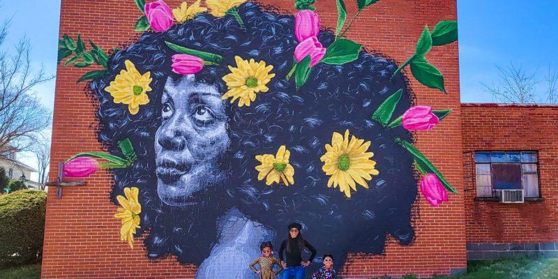 """""""Poochie"""" Mural Waynesboro"""